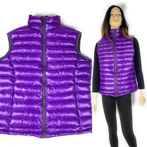 Last call @ $27 only Purple puffy vest